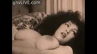• Vintage big tits black and white solo and lesbian make-out GlassDeskProductions