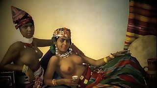 Taboo Vintage Films Presents 'A Night In A Moorish Harem #1' Abdallah Pasha's Seraglio