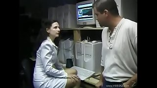 Lena gets fucked in her hairy fanny
