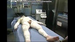 Capri Cameron, Brian Surewood in panty-less nurse fucks a patient in seventies p