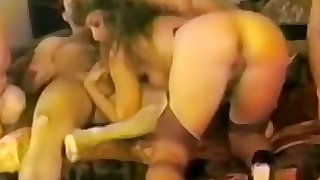 Nasty colleagues hot fuck party