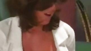 Busty Nurse makes her job