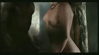 Cynthia van Damme  interracial sex with African
