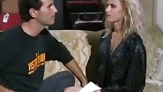 Raunchy interview with horny pussy
