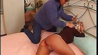 Don't make a sound and open your legs little slut! Vol. 8