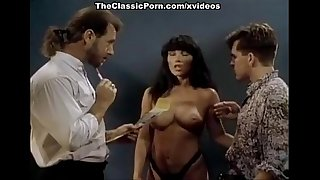 Hyapatia Lee, Steve Drake, TT Boy in nasty slut works on two big cocks in 1970s