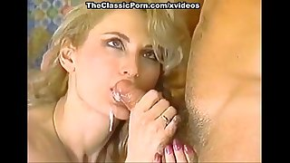 Lili Marlene, Mike Horner, Nick Niter in sexy classic porn blonde fucked by two